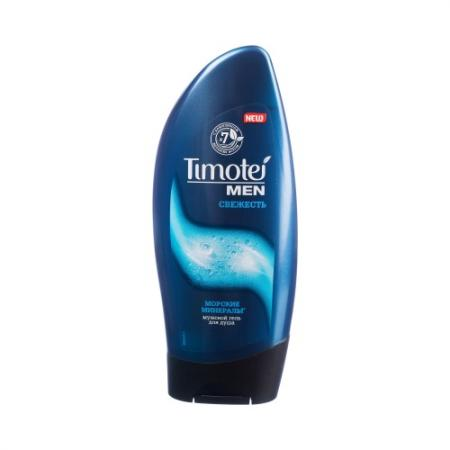 TIMOTEI Гель для душа Свежесть мужской 250мл timotei