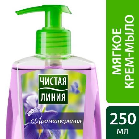 ЧИСТАЯ ЛИНИЯ Мыло жидкое мягкое Ароматерапия 250мл