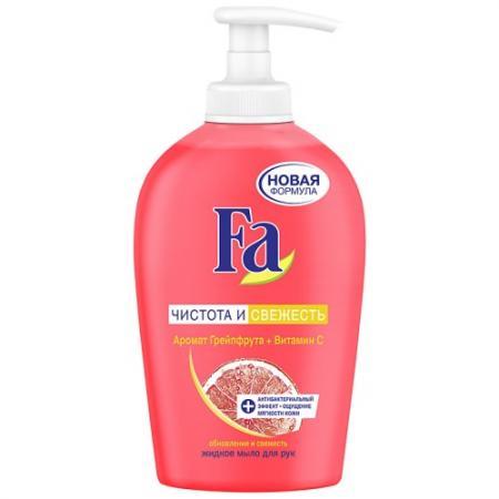 Fa Жидкое мыло Энергия & Витамины Грейпфрут 250мл fa жидкое крем мыло греческий йогурт миндаль 250мл