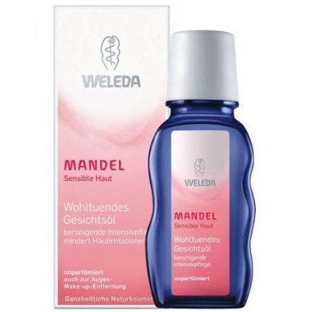WELEDA Деликатное миндальное масло 50 мл weleda weleda деликатное питательное масло для лица 50 мл