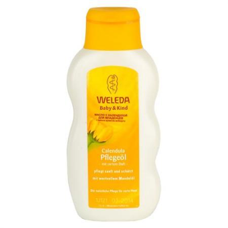 WELEDA Масло с календулой для младенцев 200 мл weleda массажное масло с арникой 200 мл