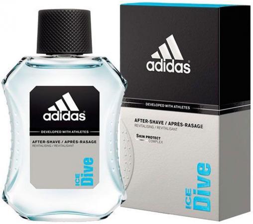 Adidas Ice Dive лосьон после бритья 100 мл лосьоны после бритья adidas лосьон после бритья adidas pure game 100 мл