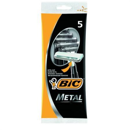 Бритвенный станок BIC Metal 5 бритвенный станок bic action 4
