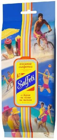 Салфетки влажные Salfeti Family 30 шт гипоаллергенные не содержит спирта