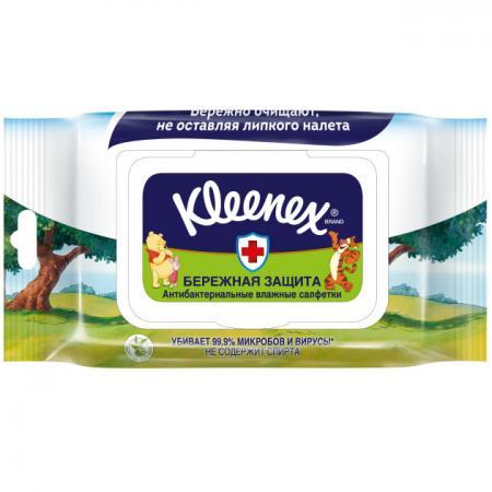 Салфетки влажные Kleenex Disney 40 шт влажная ароматизированная 9440107 салфетки влажные kleenex бережная защита 10 шт не содержит спирта влажная гипоаллергенные 9440215