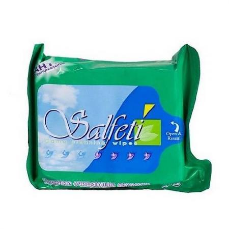 SALFETI Салфетки влажные антибактериальные MEGA PACK 100шт кл влажные салфетки антибактериальные 15шт 30шт 953016