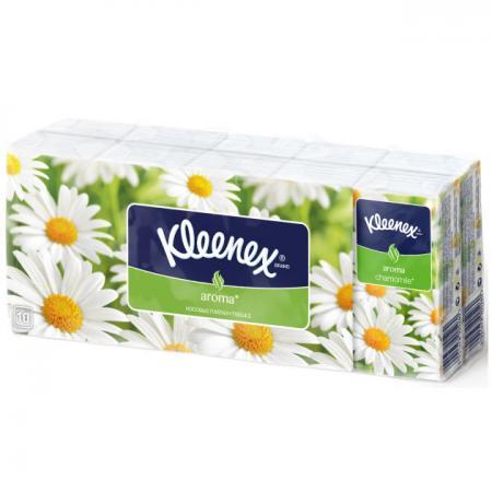 Платочки носовые Kleenex Aroma Ромашка 10 шт 3-ех слойная 9470130 new 300ml woodgrain essential oil aroma diffuser aromatherapy humidifier mist maker purifier 3 models