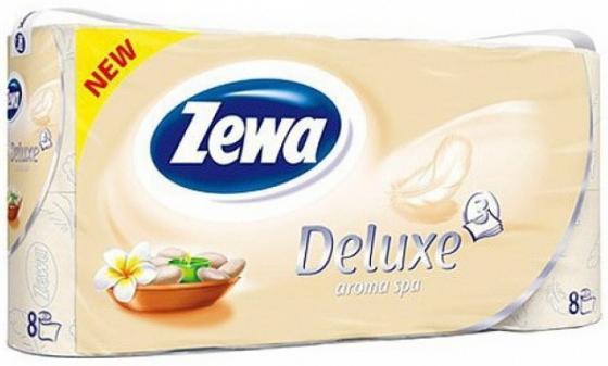 Бумага туалетная Zewa Делюкс 8 шт 3-ех слойная ароматизированная