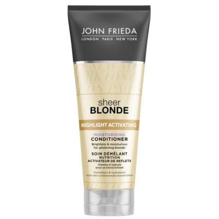 Sheer Blonde Увлажняющий активирующий кондиционер для светлых волос 250 мл john frieda sheer blonde увлажняющий активирующий кондиционер для светлых волос sheer blonde увлажняющий активирующий кондиционер для светлых волос
