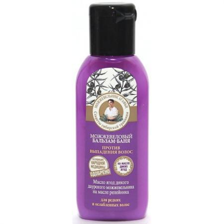 РБА Бальзам-баня Против выпадения волос можжевеловый 50мл елена степанова баня сауна рецепты здоровья