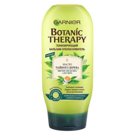 GARNIER Botanic Therapy Бальзам Тонизирующий Масло чайного дерева/цветки апельсина/алоэ вера 200мл