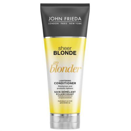 Sheer Blonde Go Blonder Кондиционер осветляющий для натуральных, мелированных и окрашенных волос 250 lace up sheer tank top