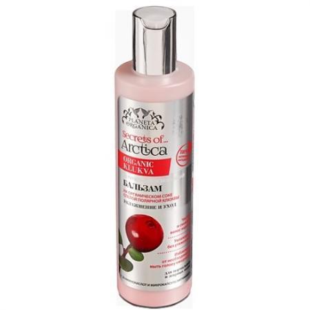 PLANETA ORGANICA Бальзам для волос АРКТИКА Увлажнение и уход освежающий натуральный 280 мл