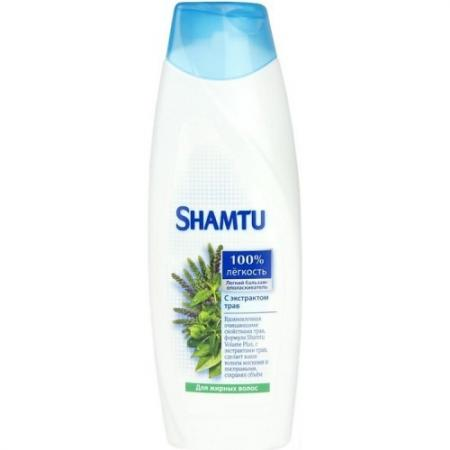 SHAMTU Бальзам Глубокое очещение и свежесть с экстрактами трав 360мл shamtu