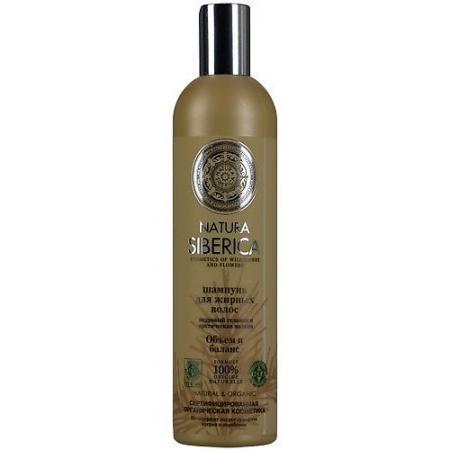 Natura Siberica Бальзам д/жирных волос Объем и баланс 400 мл natura siberica шампунь для жирных волос объем и баланс 400 мл