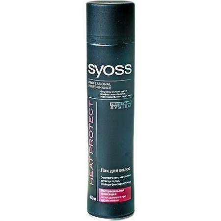 SYOSS Лак для волос Heat Protect Экстрасильной фиксации 400мл