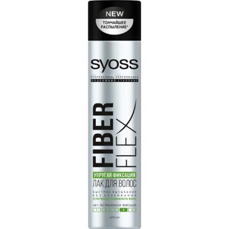 Syoss FiberFlex Упругая Фиксация лак для волос экстрасильной фиксации 400 мл сoncept stylist designer лак для волос экстрасильной фиксации 400 мл
