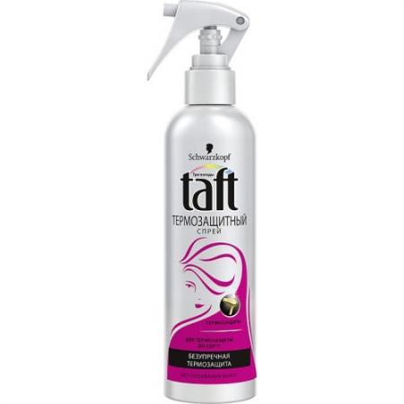 TAFT Спрей для укладкиТермозащитный Секреты горячей укладки от Хайди 250мл спрей очиститель для маркерных досок silwerhof white board clean 250мл 671209