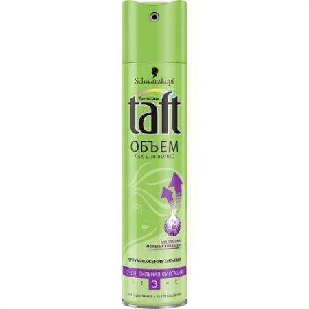 TAFT Лак для волос Senso-Touch Объем очень сильная фиксация 225мл