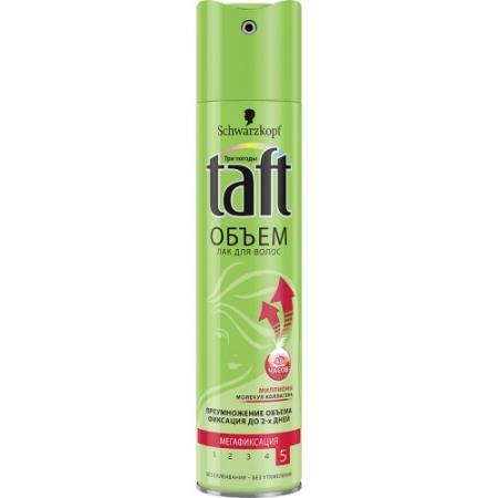 TAFT Лак для волос Объем мегафиксация 225 мл