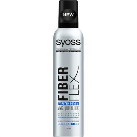 Syoss FiberFlex Упругий Объем мусс для волос экстрасильной фиксации 250 мл