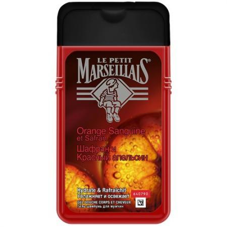 Картинка для Шампунь Le Petit Marseillais Шафран и Красный апельсин 250 мл 00093