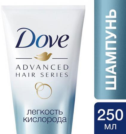 Шампунь Dove Легкость кислорода 250 мл косметика для мамы dove крем гель для душа легкость кислорода 250 мл