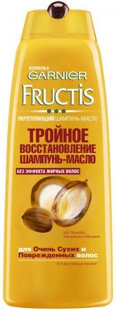 Шампунь-масло Garnier Fructis Тройное восстановление 400 мл косметика для мамы garnier fructis sos шампунь восстановление 250 мл