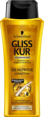 Шампунь gliss kur oil nutritive 250 мл