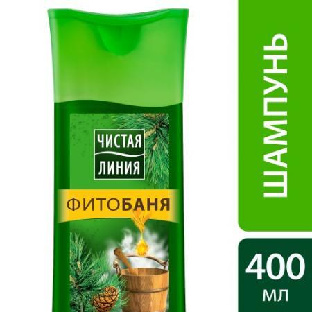 Шампунь Чистая линия Фитобаня для всех типов волос 400 мл