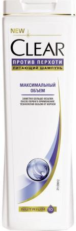 Шампунь Clear Максимальный объем 400 мл