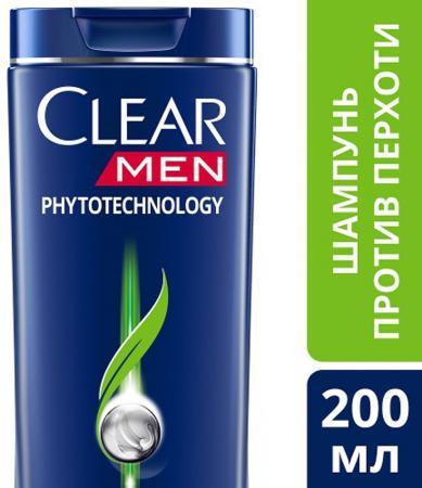 Шампунь Clear Phytotechology 200 мл шампунь кря кря дыня 200 мл