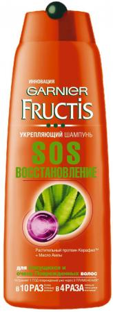 Шампунь Garnier Fructis SOS Восстановление 400 мл new k508 40dr kinco plc cpu dc21 6 28 8v power supply 24di 16do relay