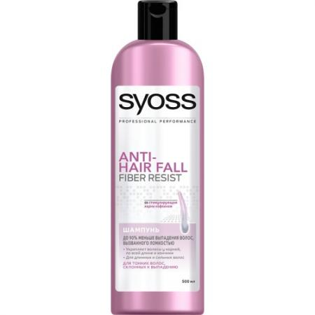 Шампунь Syoss Anti-Hair Fall 500 мл шампуни syoss шампунь supreme selection restore 250 мл