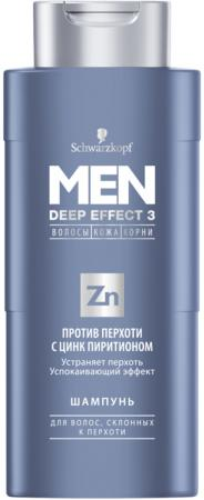 Шампунь L'Oreal Paris Против перхоти с цинк-пиритионом 250 мл шампуни men deep effect 3 шампунь men deep effect 3 от перхоти и жирности с цинк пиритионом 250мл