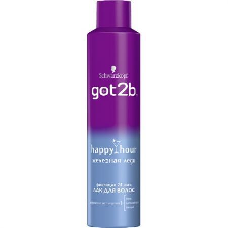Got2b Лак для волос HappyHour Железная леди 300мл got2b happy hour лак для волос железная леди 300 мл