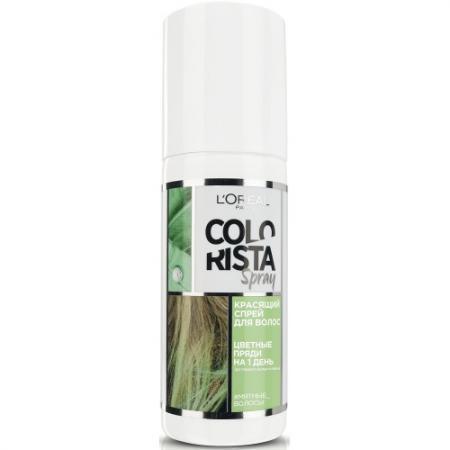 LOREAL Colorista Спрей для волос красящий мятные спрей мусс loreal professional мусс для объема тонких волос 4 full volume extra loreal