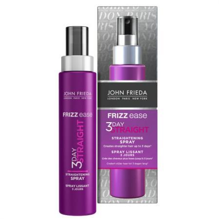 Frizz Ease 3 DAY STRAIGHT Выпрямляющий моделирующий спрей для волос длительного действия 100 мл keune крем выпрямляющий straight cream 200мл