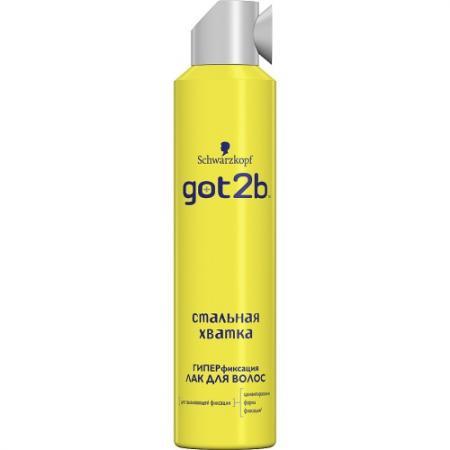 купить GOT2B Лак для волос СТАЛЬНАЯ ХВАТКА 300мл по цене 430 рублей