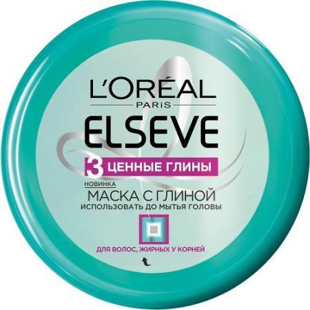 LOREAL ELSEVE Маска для волос 3 Ценные глины 150мл elseve маска для волос 3 ценные глины 150 мл