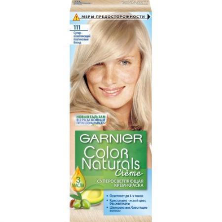 GARNIER Краска для волос COLOR NATURALS 111 Платиновый Блондин garnier