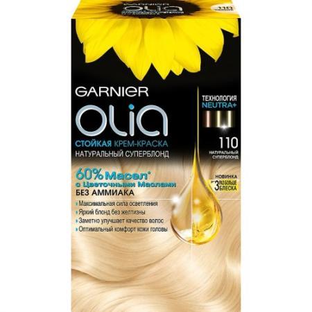 GARNIER Краска для волос OLIA 110 Натуральный суперблонд garnier