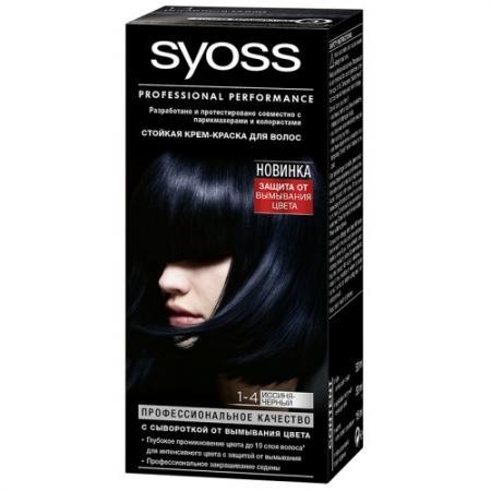 Syoss Color Краска для волос 1-4 Иссиня-черный