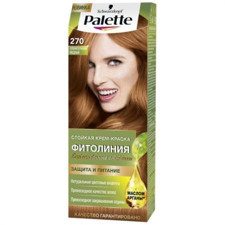 PALETTE ФИТОЛИНИЯ 270 Пленительный медный 110 мл palette фитолиния 600 светло каштановый 110 мл
