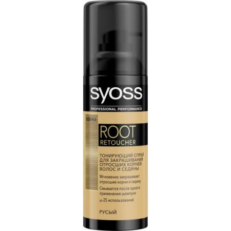 Syoss Root Retoucher Тонирующий спрей для закрашивания отросших корней и седины Русый root canal anatomy