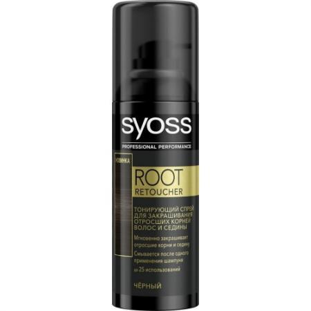 Syoss Root Retoucher Тонирующий спрей для закрашивания отросших корней и седины Черный root canal anatomy
