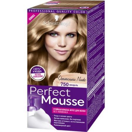 PERFECT MOUSSE Краска для волос 750 Миндаль