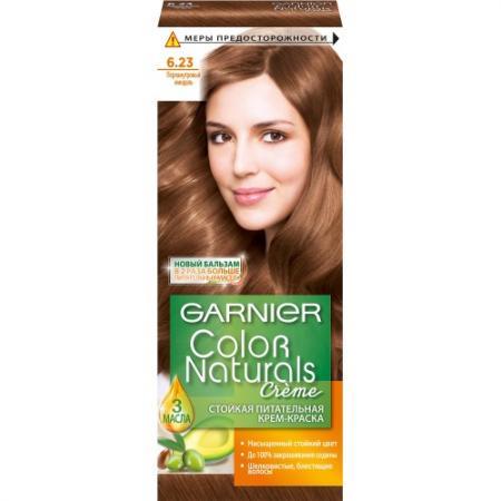 GARNIER Краска для волос Color Naturals 6.23 Перламутровый миндаль garnier