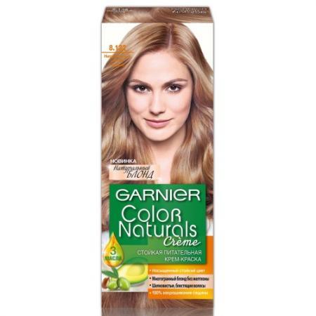 GARNIER Краска для волос Color Naturals 8.132 Натуральный светло-русый краска для волос garnier garnier ga002lwivs40