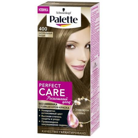 PALETTE PERFECT CARE крем-краска 400 Натуральный Русый 110 мл palette perfect care 855 золотистый темный мокко 110 мл